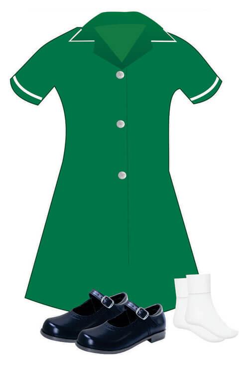 Girls Summer Uniform